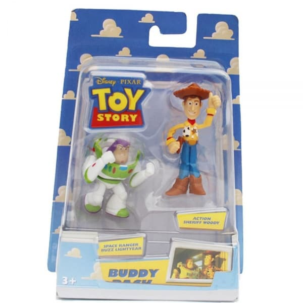Фигурки Buzz Lightyear & Sheriff Woody Toy Story, в ассортименте, 5см