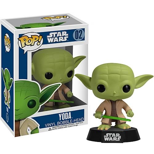 Фигурка-башкотряс Магистр Йода Yoda Funko POP! Vinyl Bobble-Head