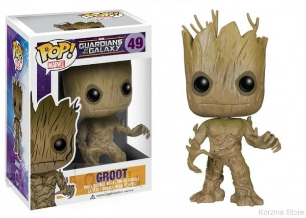 Фигурка-башкотряс Грут Groot Funko POP! Vinyl Bobble-Head Guardians of the Galaxy