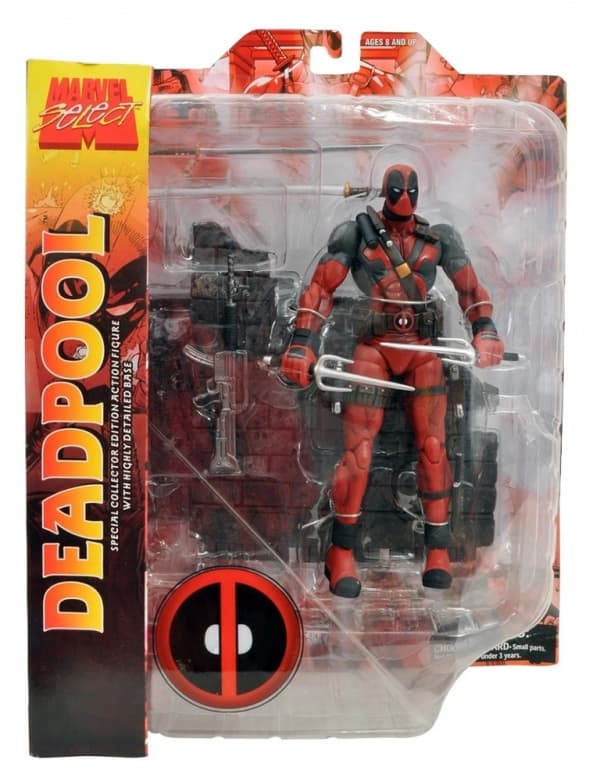 Фигурка Дэдпул Deadpool Marvel Select, 19см